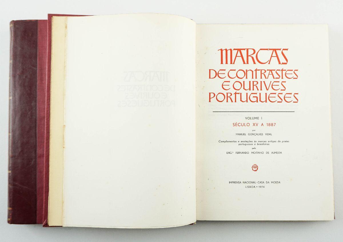 Marcas de Contrastes e Ourives Portugueses / Manuel Gonçalves Vidal