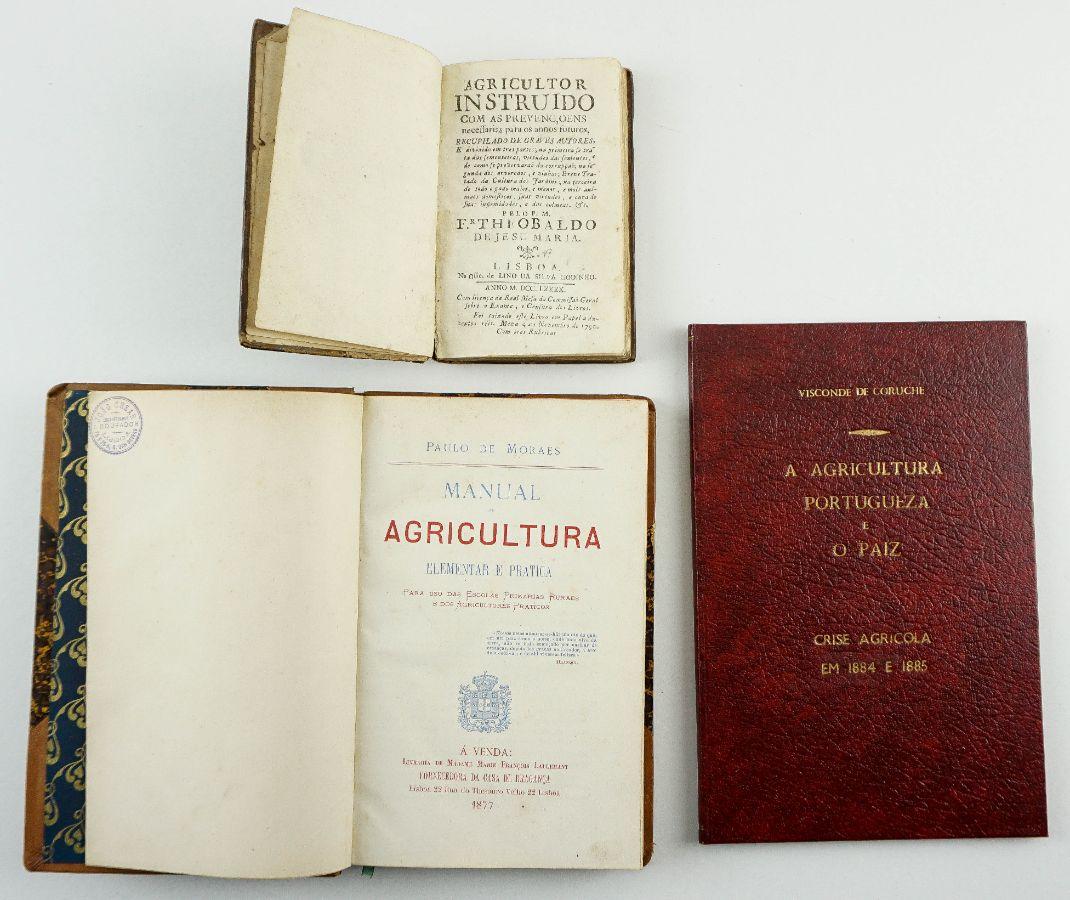 3 títulos de Agricultura