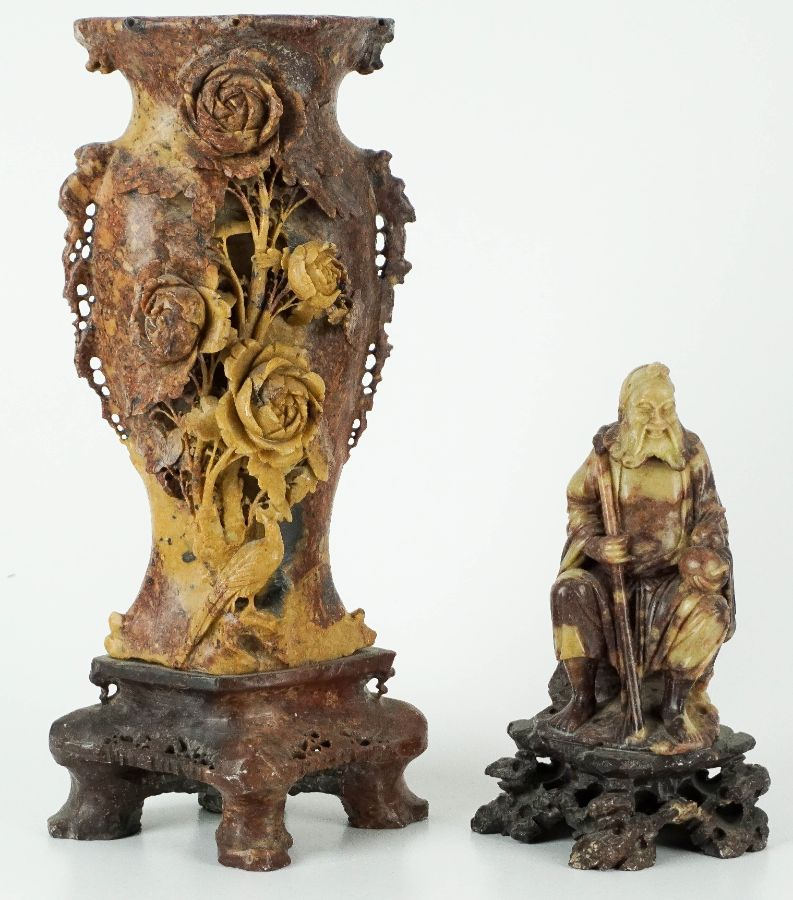 Figura sentada e Jarra