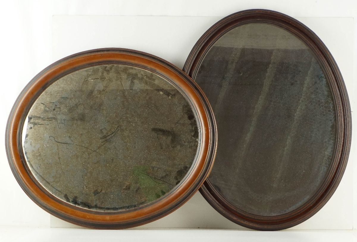 2 Espelhos ovais