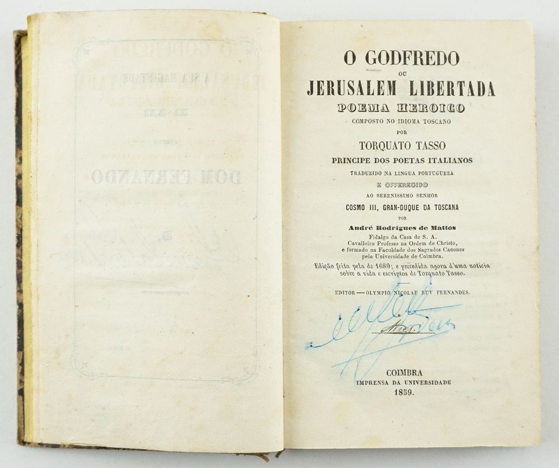 Torcato Tasso – Jerusalém Libertada (1859)