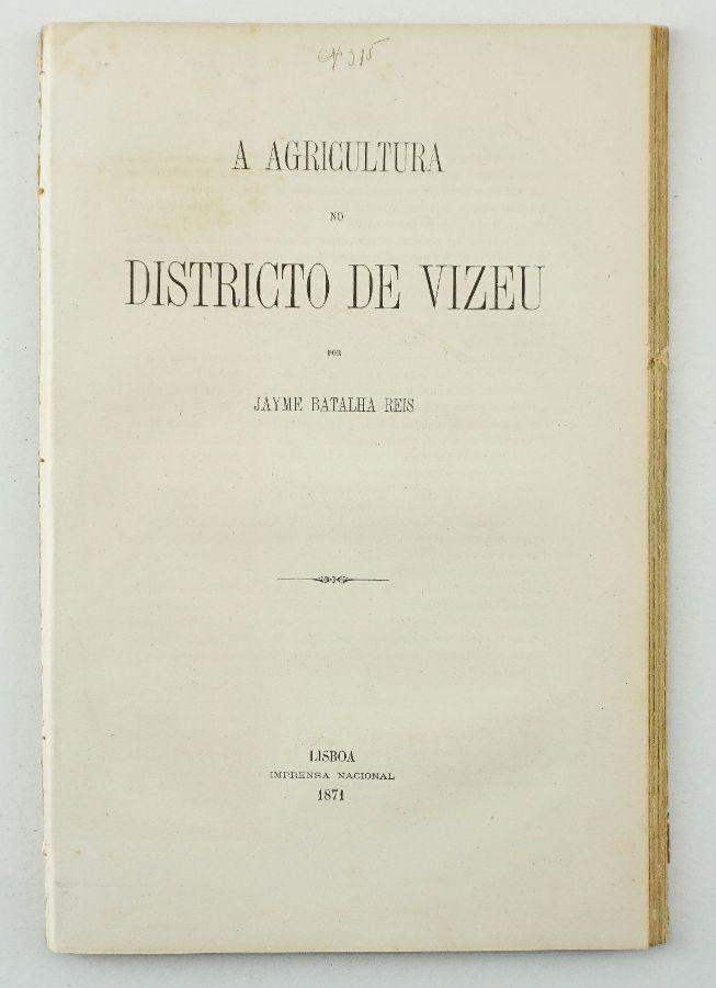 A Agricultura no Distrito de Viseu (1871)