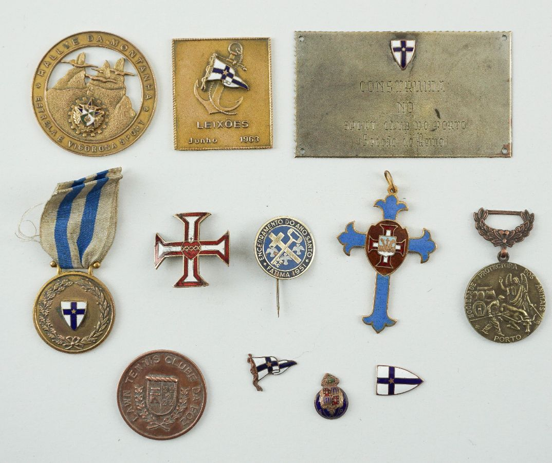 Medalhas e Pins