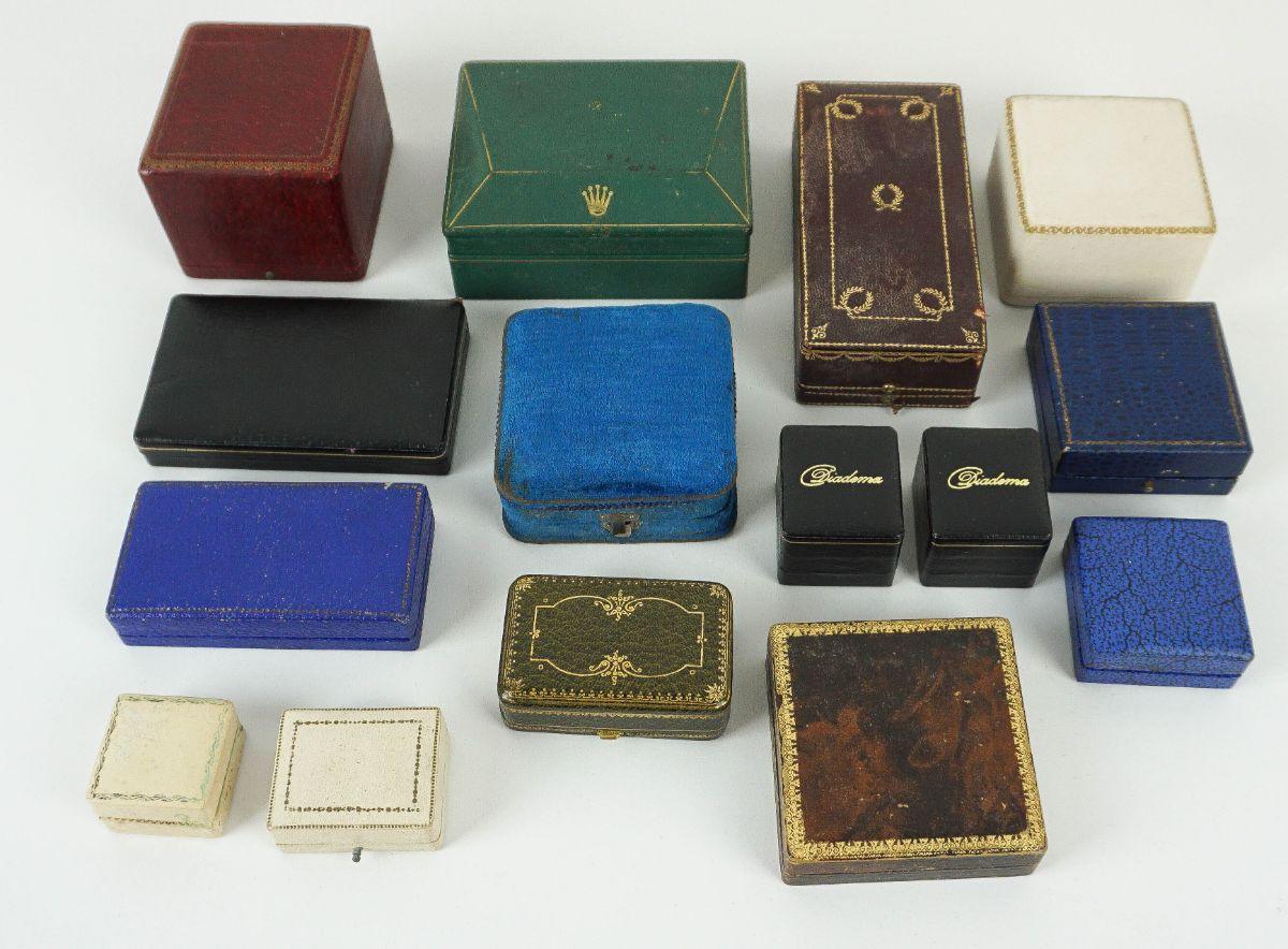 15 Caixas / Estojos para jóias