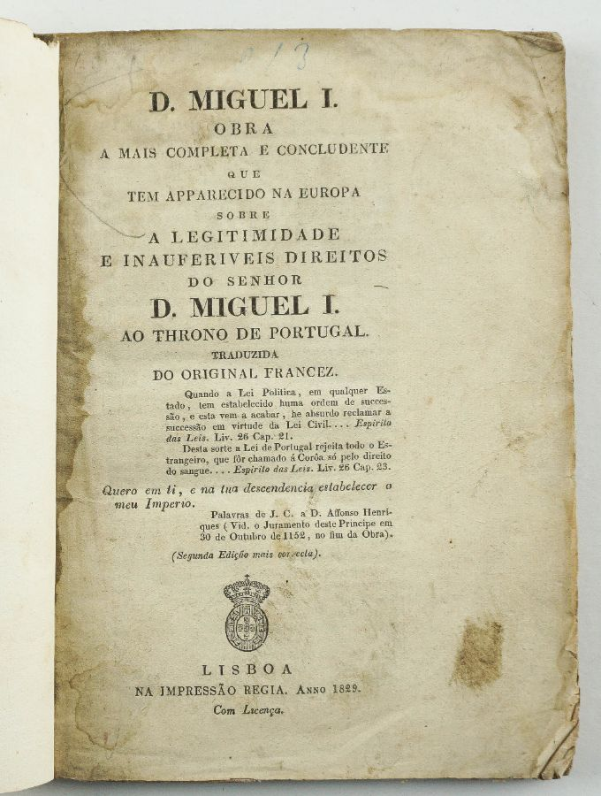 D. Miguel I.