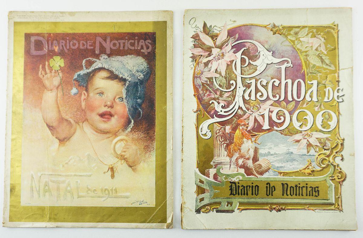 Diário de Notícias (Páscoa de 1900 e Natal de 1911)