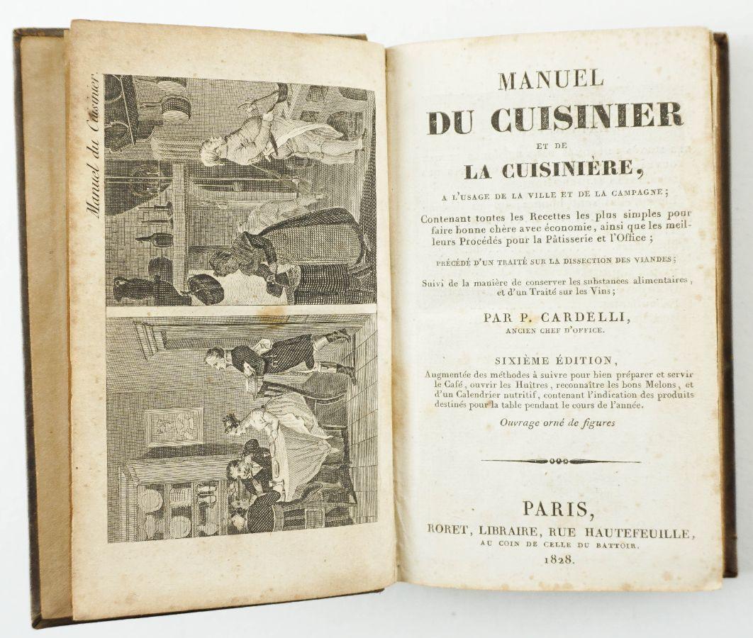 Manuel du Cuisiner