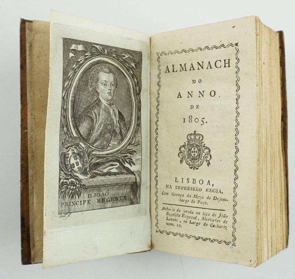 Almanaque para 1805