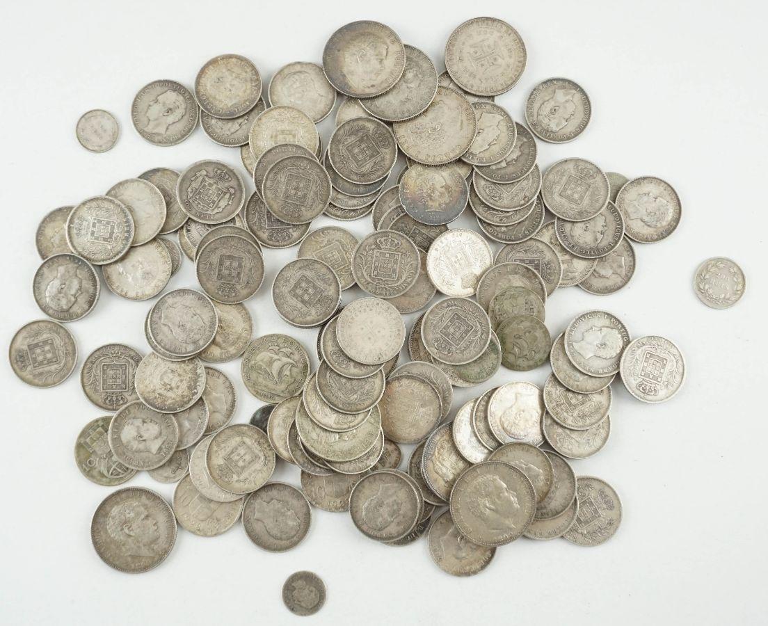 117 Moedas Portuguesas em Prata