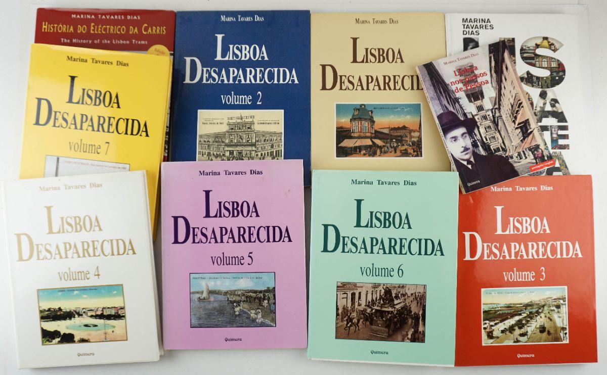 10 Livros de Marina Tavares Dias.