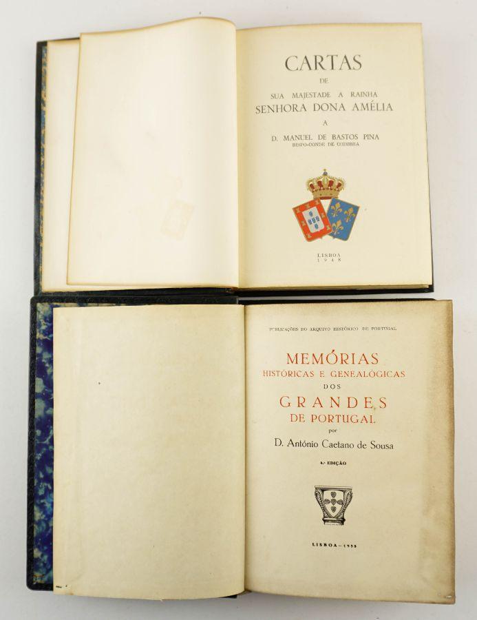 Cartas de Sua Majestade a Rainha Senhora Dona Amélia