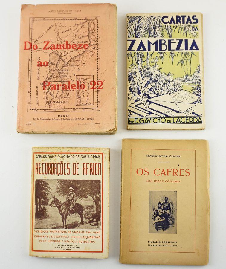 4 Livros sobre Africa