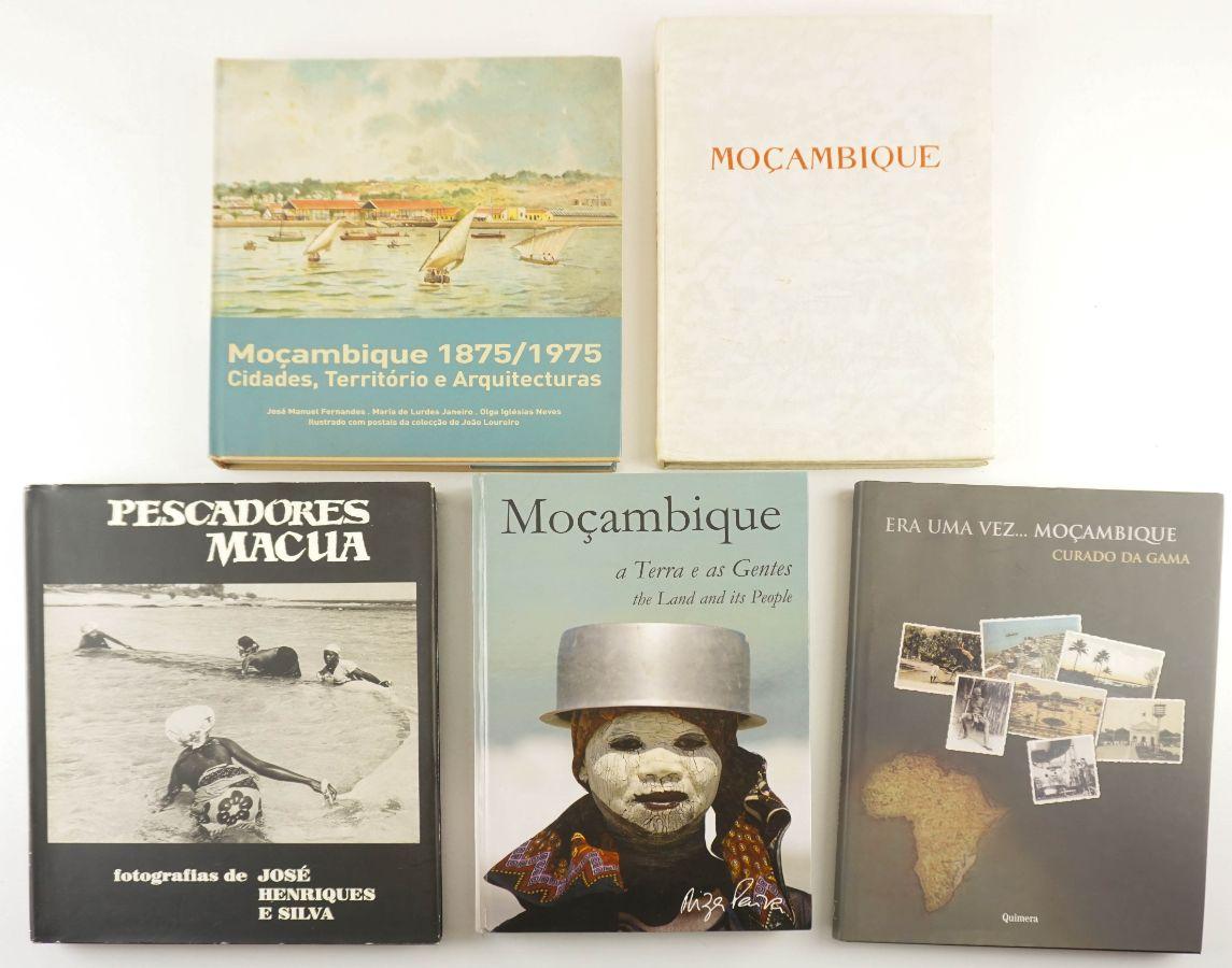 5 Fotobooks sobre Moçambique