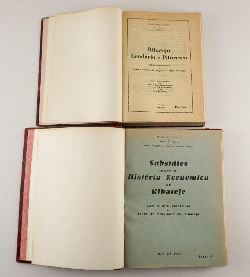 2 Livros sobre Ribatejo