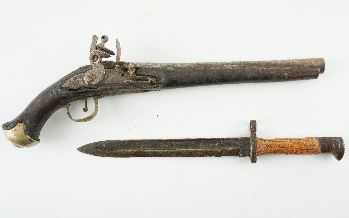 Pistola de pederneira