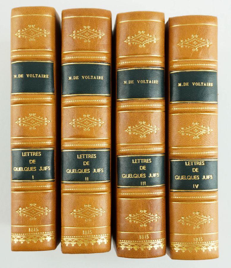 Obra em defesa dos Judeus contra os sarcasmos de Voltaire (1815)