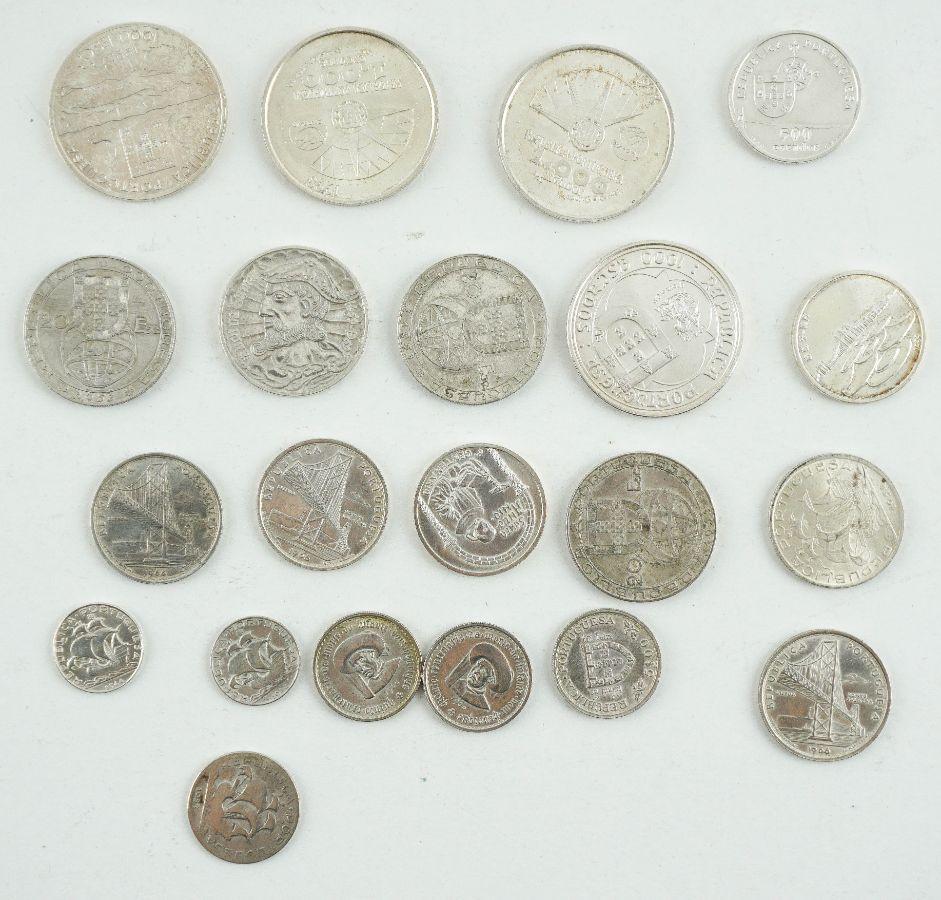 20 Moedas em prata