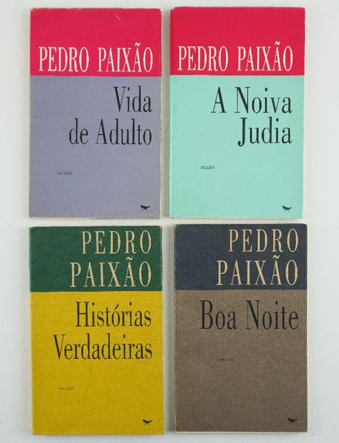 Pedro Paixão – com dedicatórias
