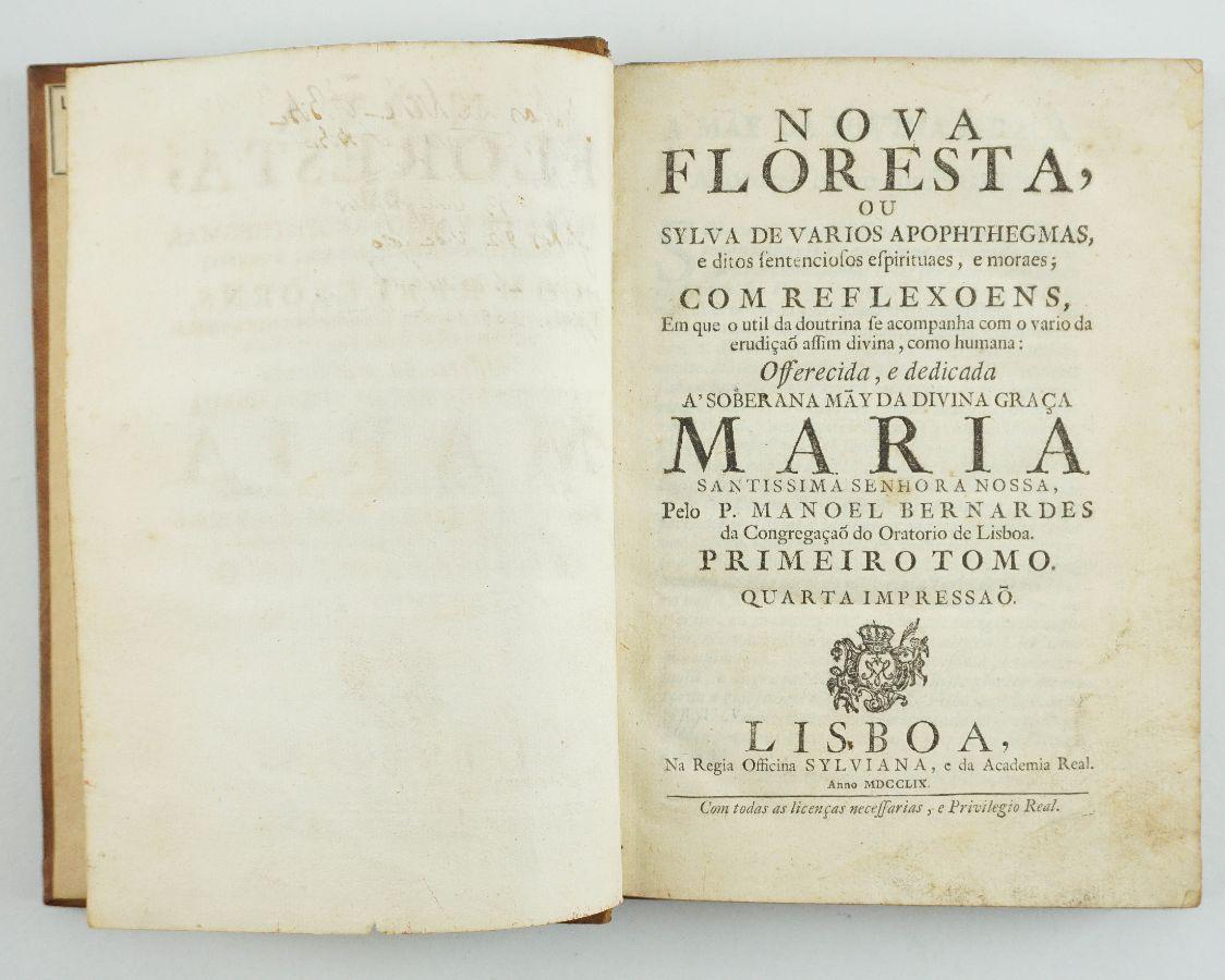 Padre Manuel Bernardes – Nova Floresta (1759)