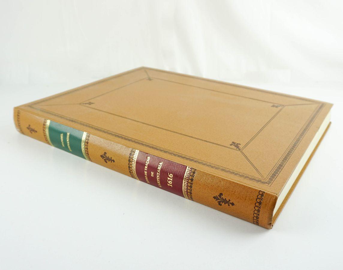 Livro de Traças de Carpintaria de 1616