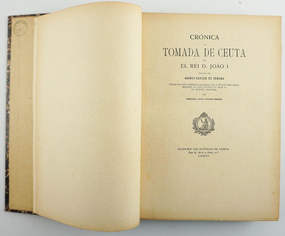 Crónica da Tomada de Ceuta por El Rei D. João I