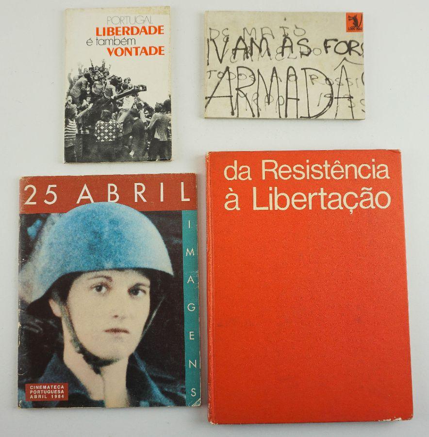 Livros de Fotografia sobre a revolução portuguesa