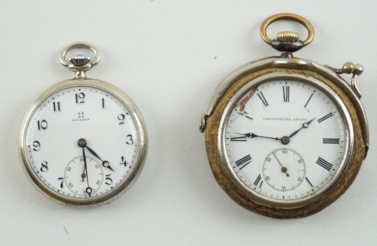 2 Relógios de bolso