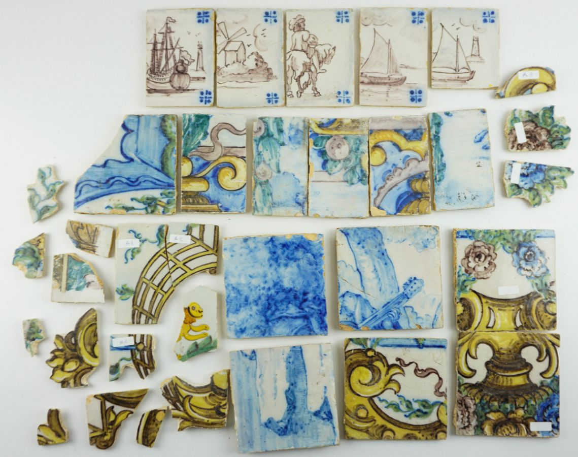 Azulejos Portugueses do séc. XIX