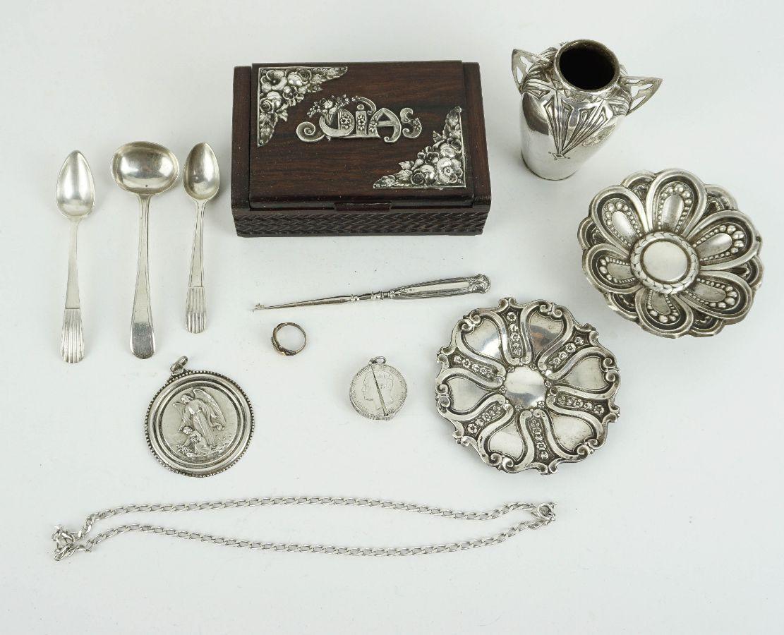 ´12 Peças em Prata