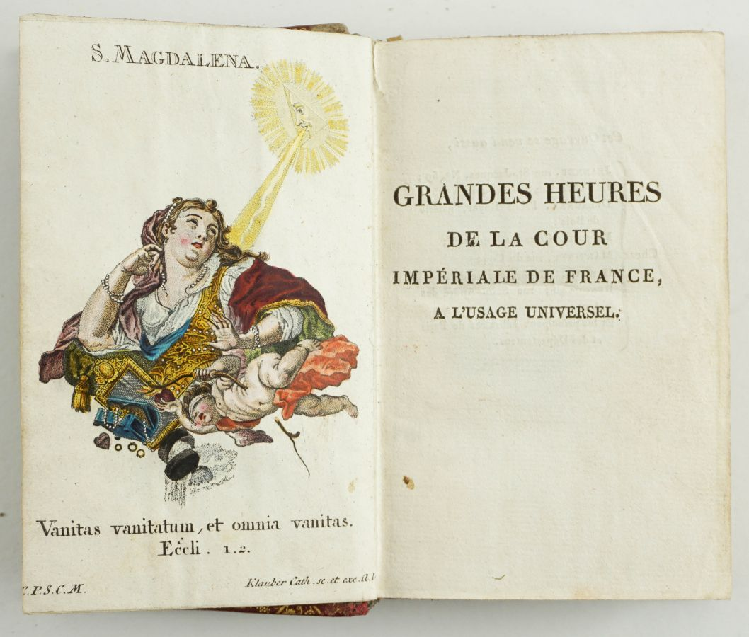 GRANDES HEURES DE LA COUR IMPÉRIALE DE FRANCE