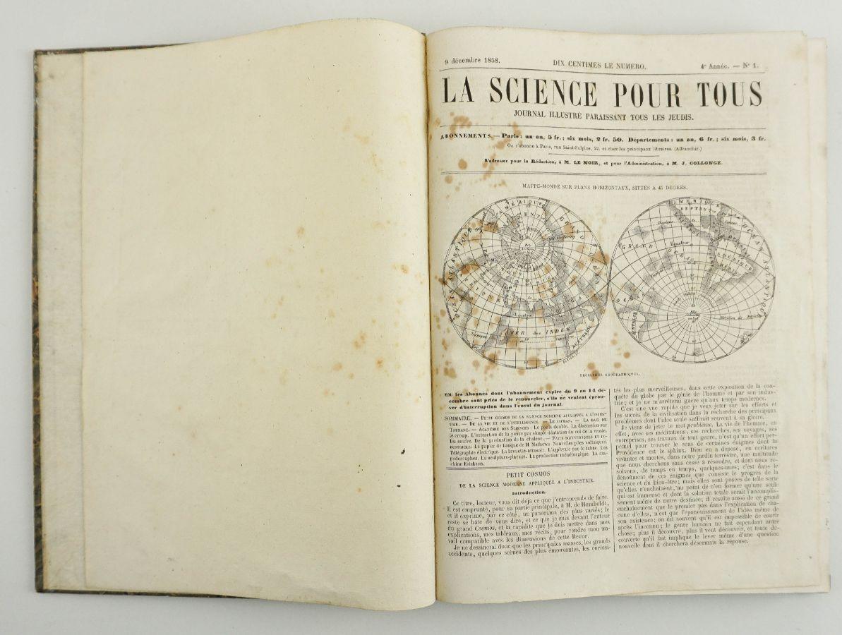 LA SCIENCE POUR TOUS – JOURNAL ILLUSTRÉ