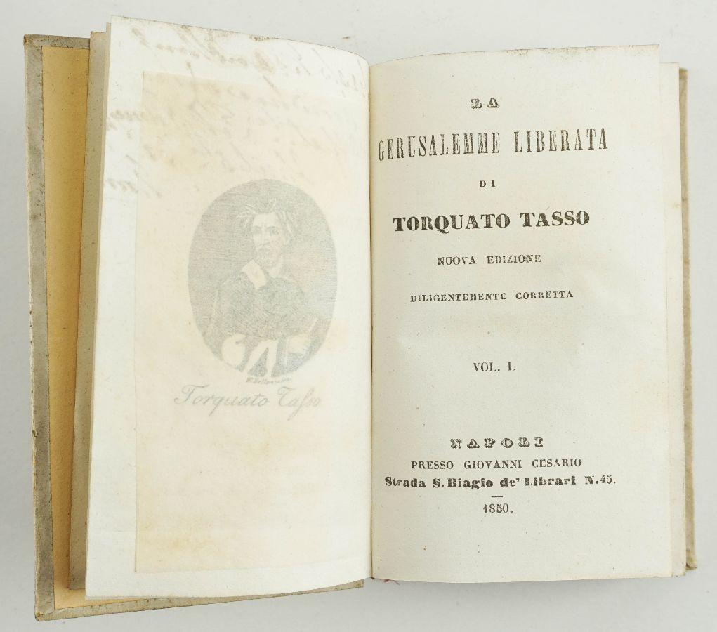 Tasso – LA GERUSALEMME LIBERATA