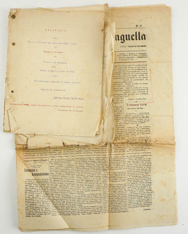Angola, 1912