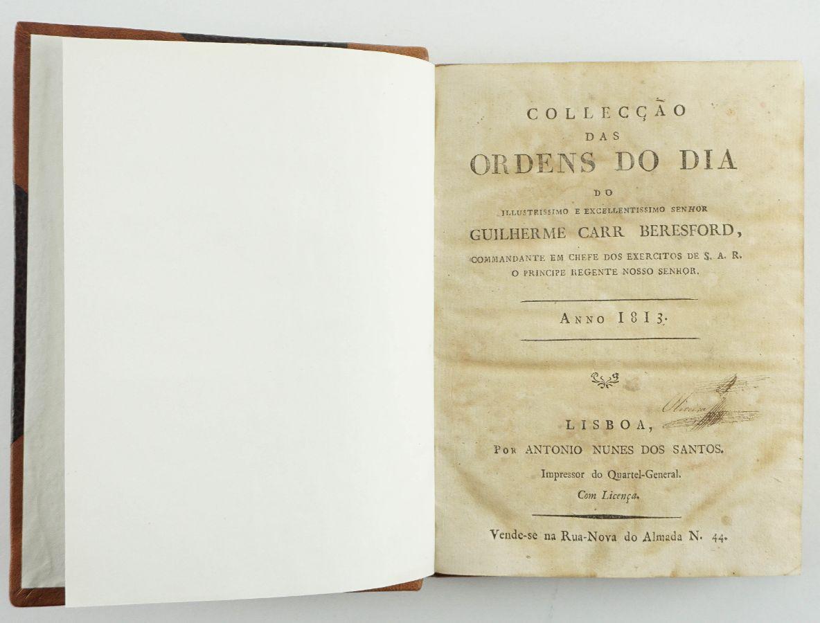Guerra Peninsular – Ordens do Dia de Beresford (1813)