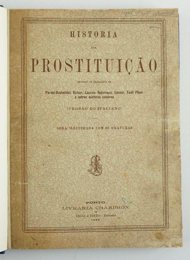 História da Prostituição (1899)