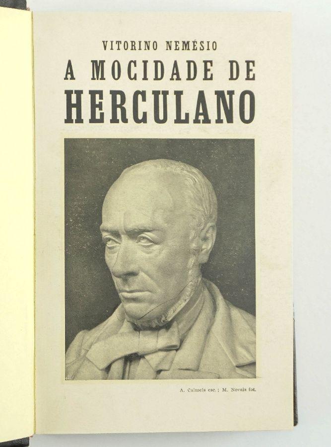 Vitorino Nemésio - a Mocidade de Herculano (1ª edição)