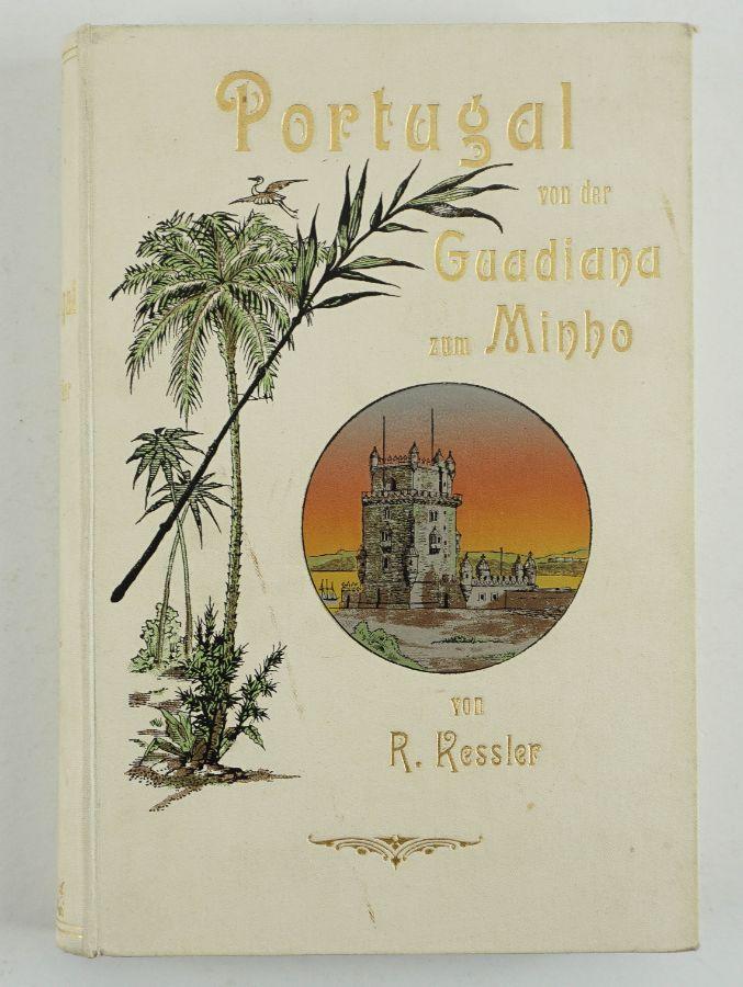 Livro alemão sobre Portugal (1903)