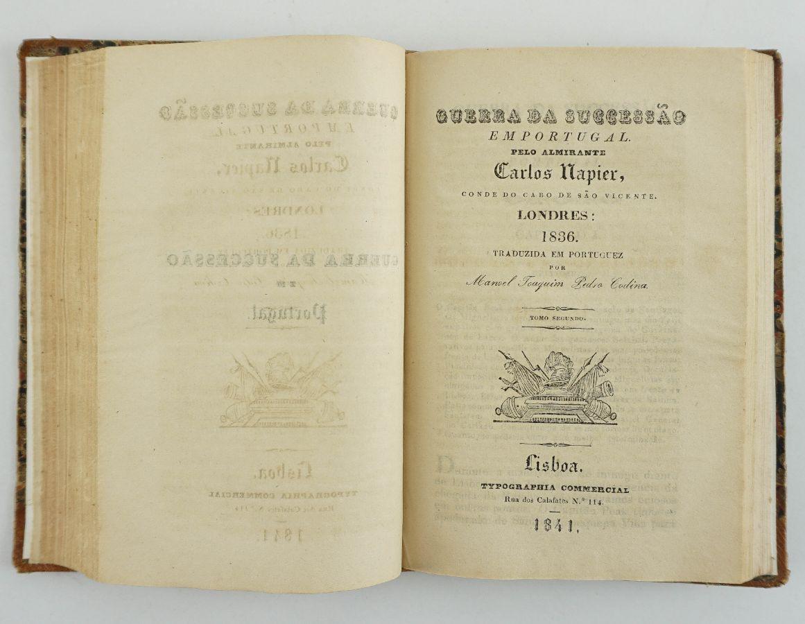 Charles Napier – Guerra da Sucessão em Portugal (1841)