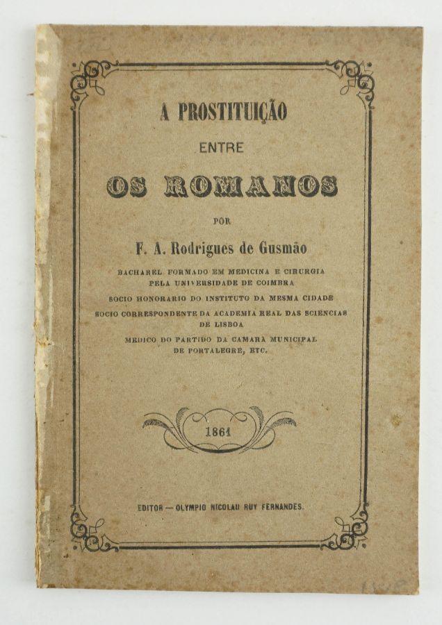 A Prostituição entre os Romanos (1861)