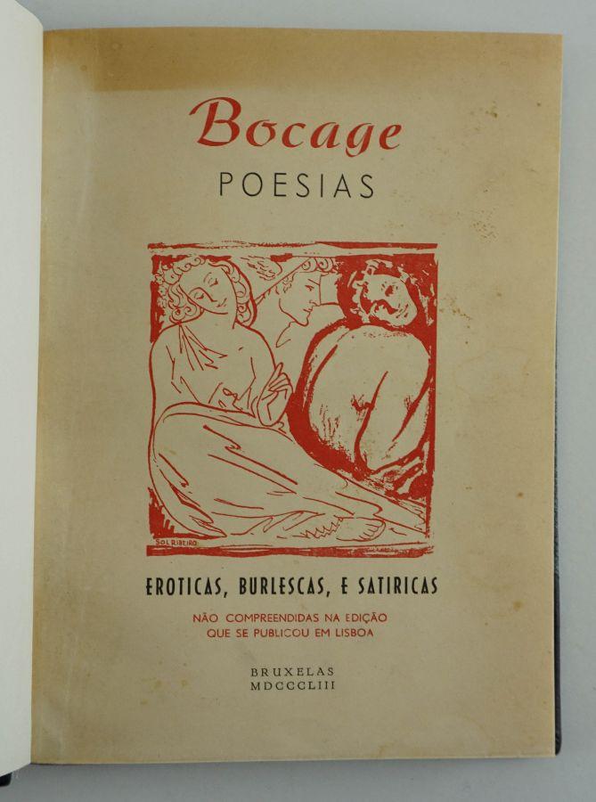 Edição clandestina durante o Estado Novo das obras eróticas de Bocage
