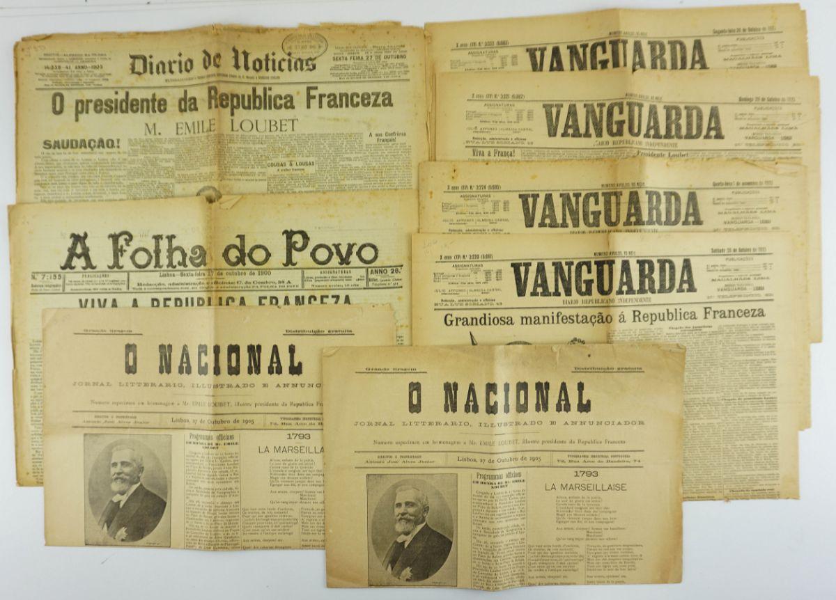 Visita do Presidente da República Francesa Loubet a Portugal (1905)