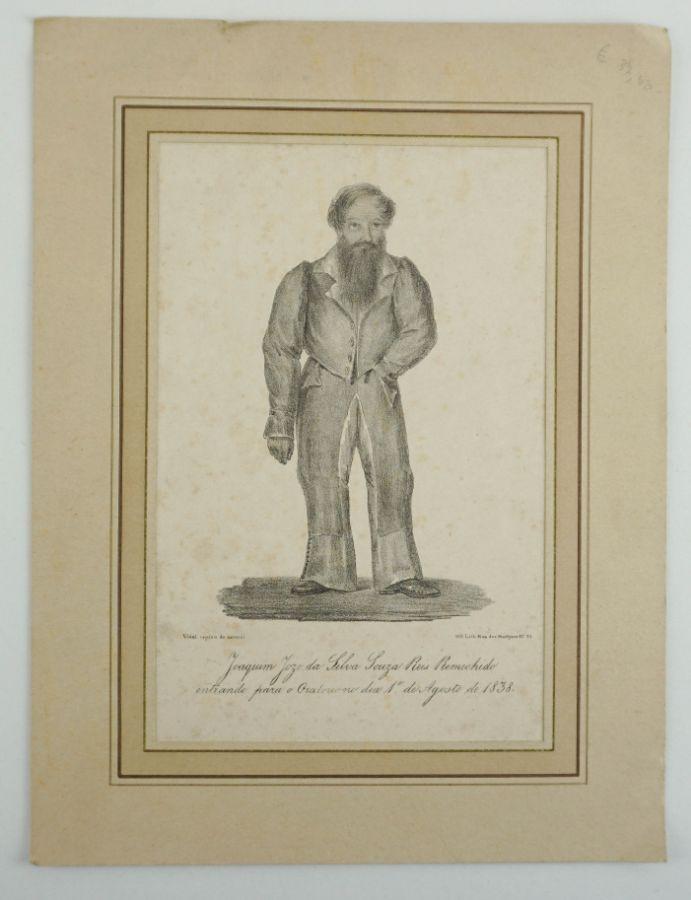 Retrato do guerrilheiro miguelista Remexido (1838)