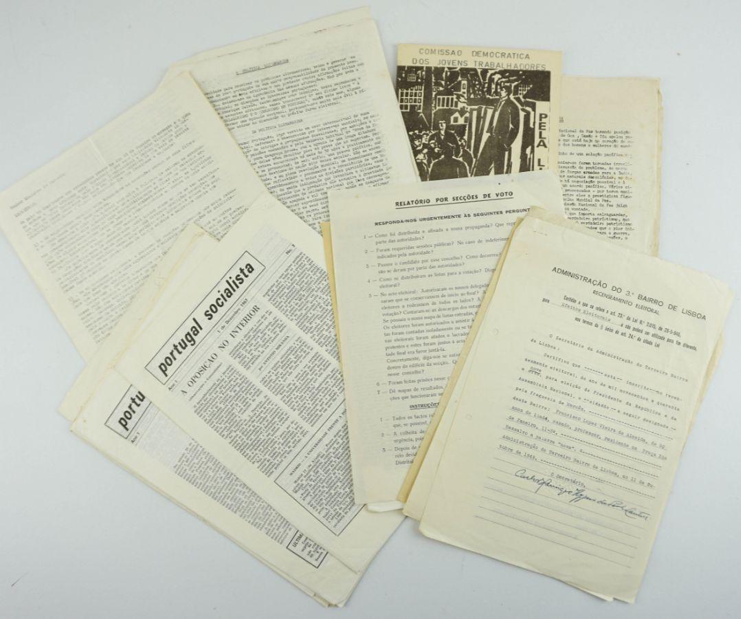 Documentos da Oposição ao Estado Novo