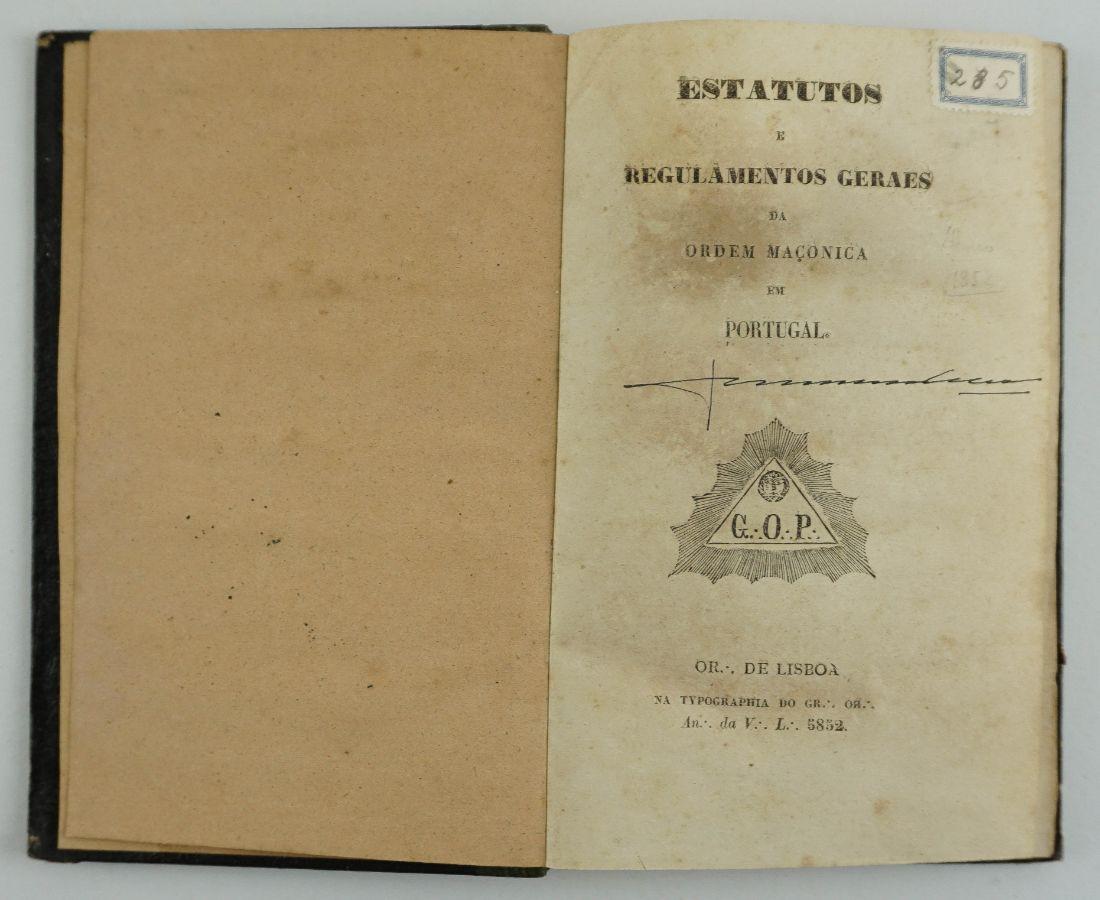 Maçonaria (1852)