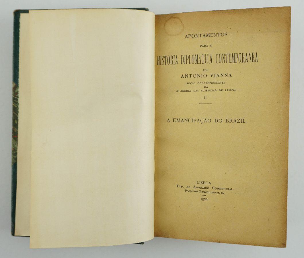 António Viana, História Diplomática contemporânea