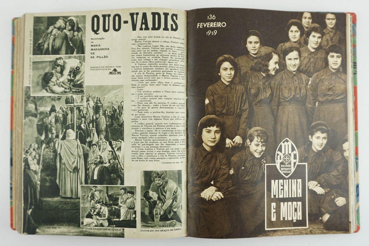 Menina e Moça - Mocidade Portuguesa feminina (1947-1959)