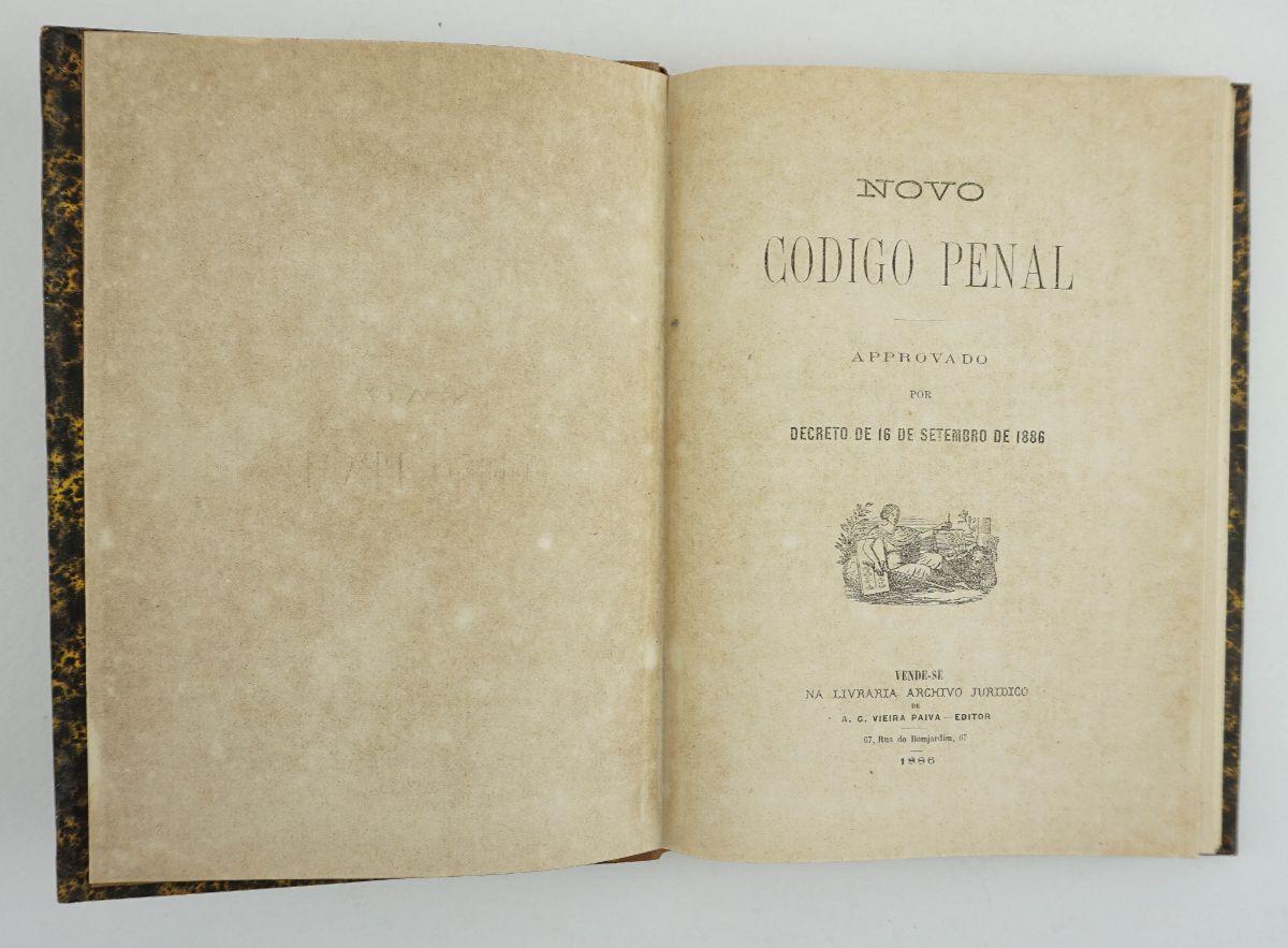 1ª edição do Código Penal de 1886