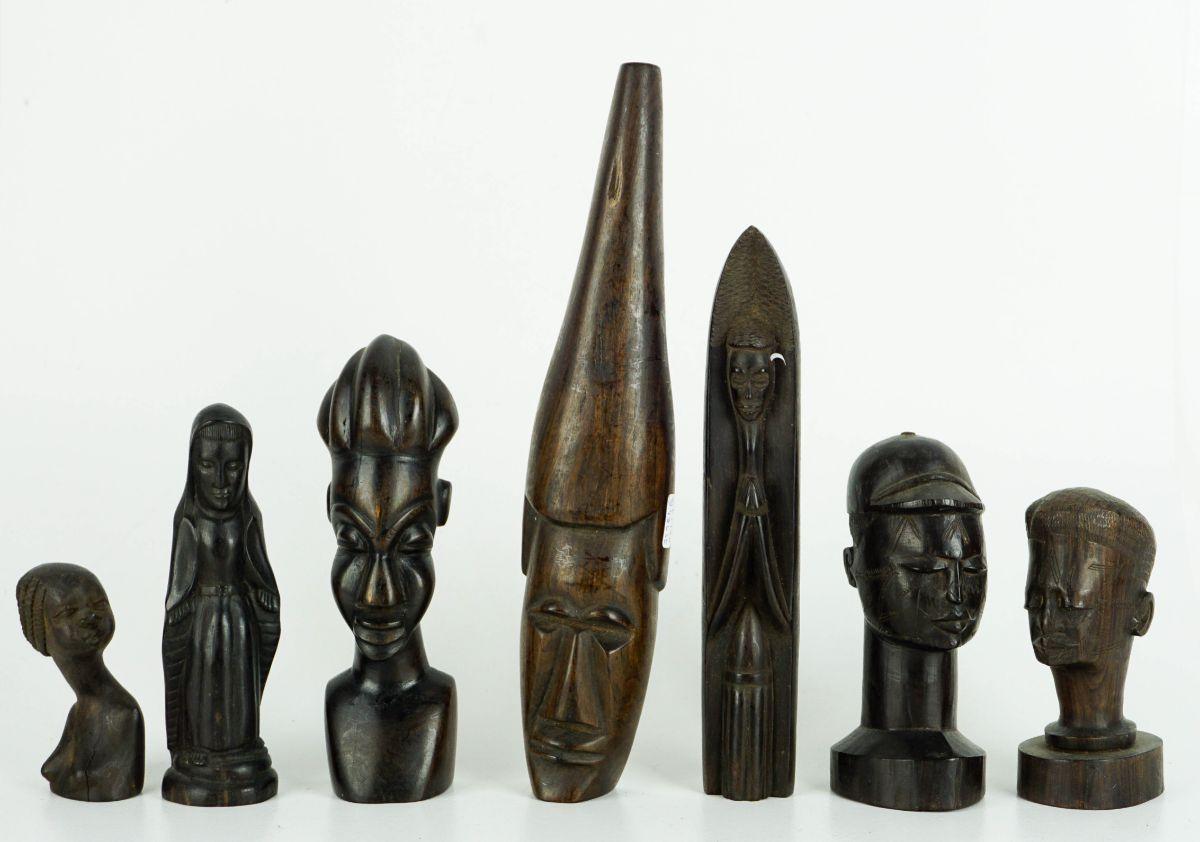 7 Esculturas Africanas