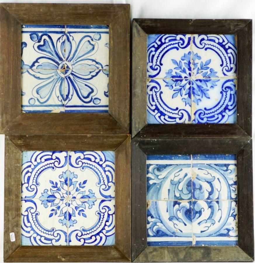 8 Quadras de azulejos