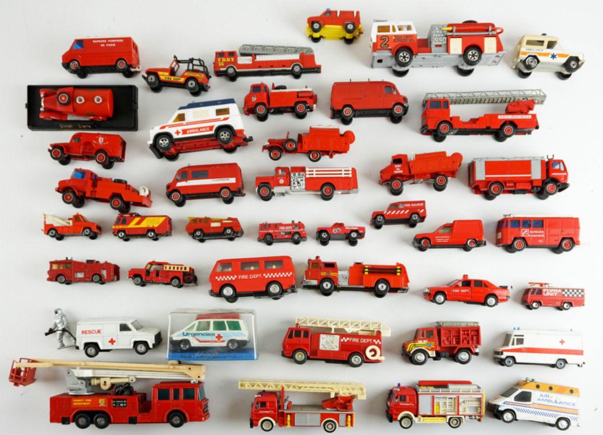 Colecção Carros de Bombeiros